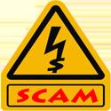 scam cuidado dinheiro alerta atenção attentio allert